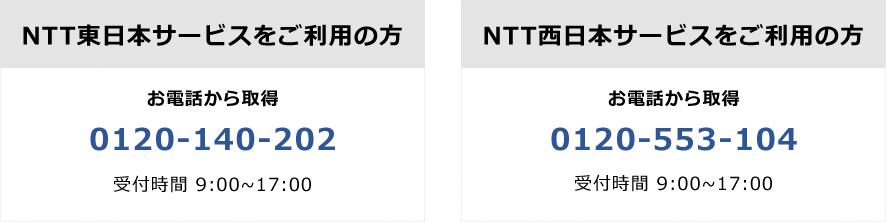 NTT転用番号取得